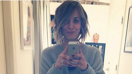 Kaley Cuoco From The Big Bang Theory Has Cut Her Hair Short And It Looks Lovely Hair Beauty Heat