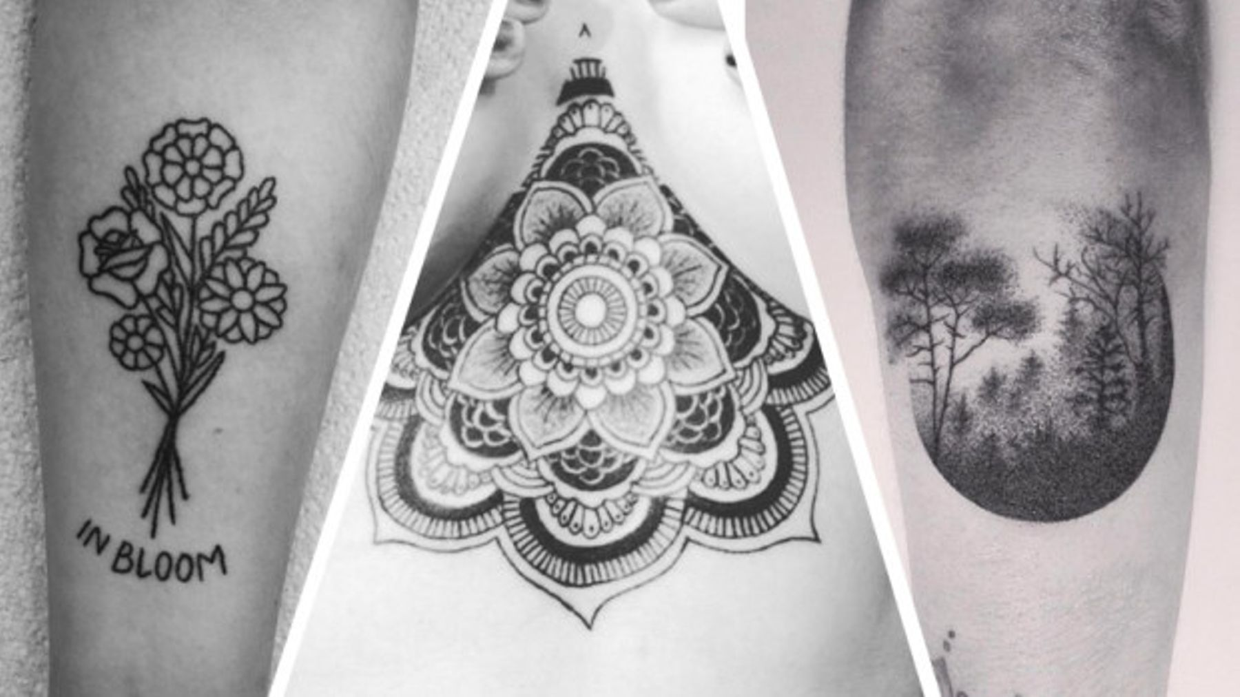 11 Amazing Hand-Poked Tattoos That You'll Want Right Now