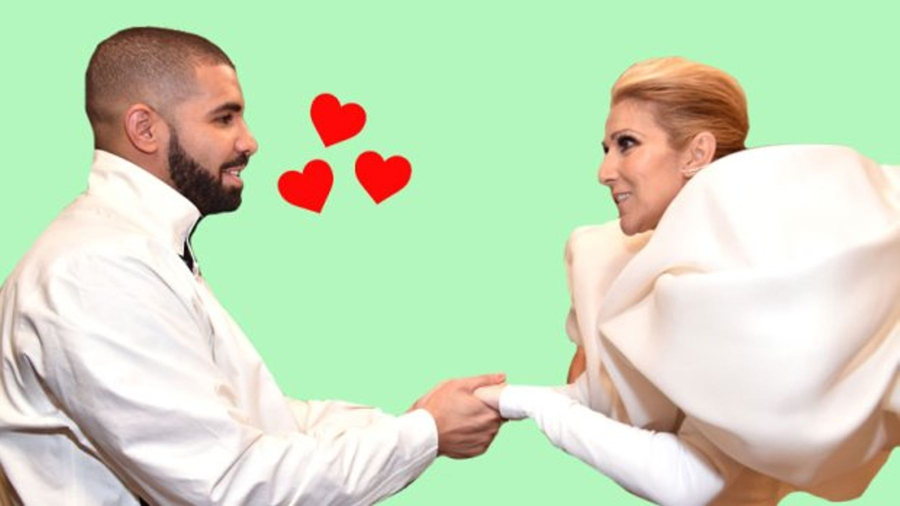 Drake Dropped His 'Cool Guy' Act For Celine Dion And Yes, It