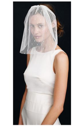Did Jennifer Aniston Wear A Veil By J Crew On Her Wedding Day Grazia