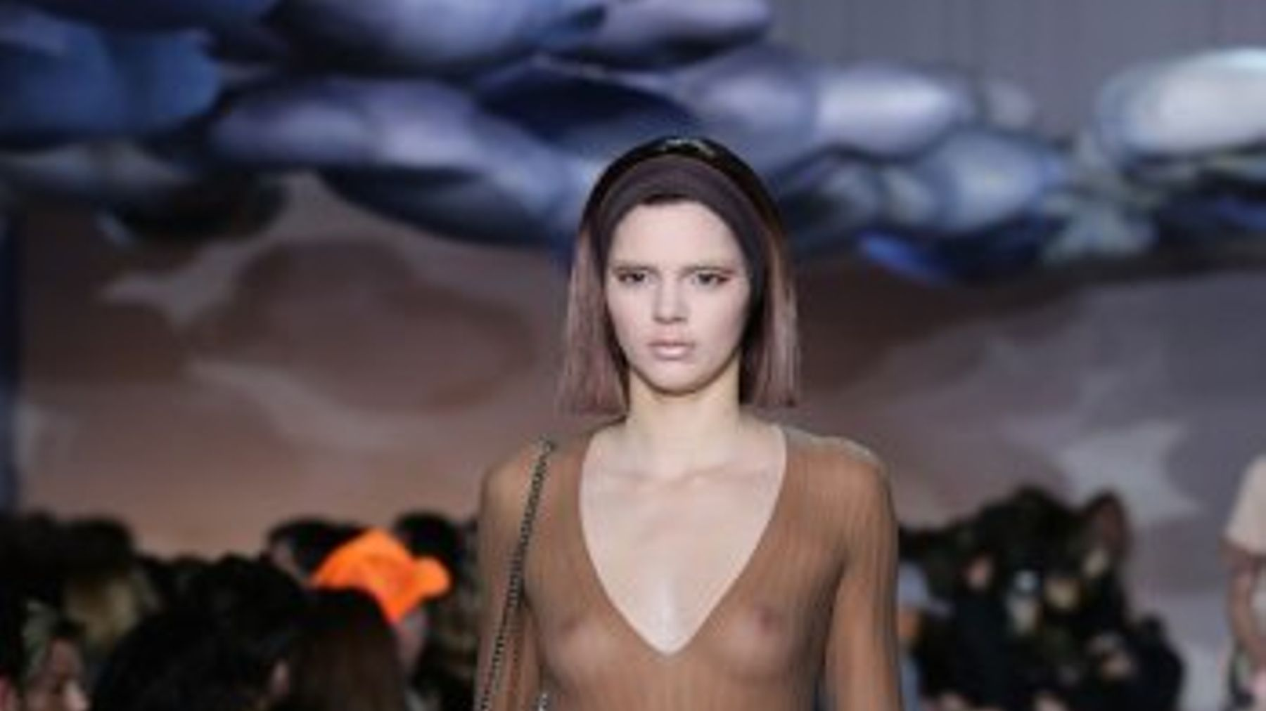 Kendall Jenner Walked For Marc Jacobs At New York Fashion Week