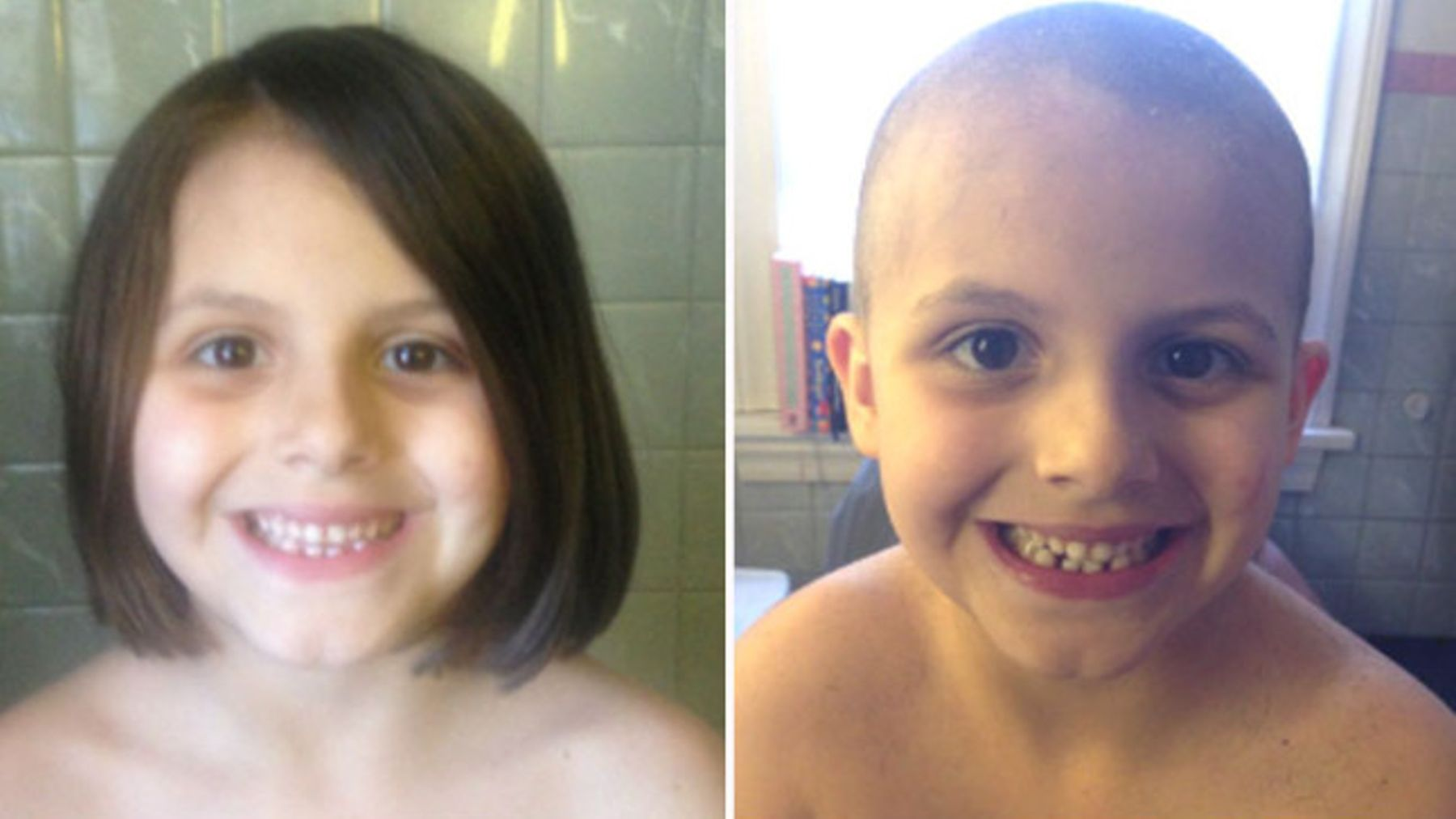 read: mother lets little girl shave her head to break gender
