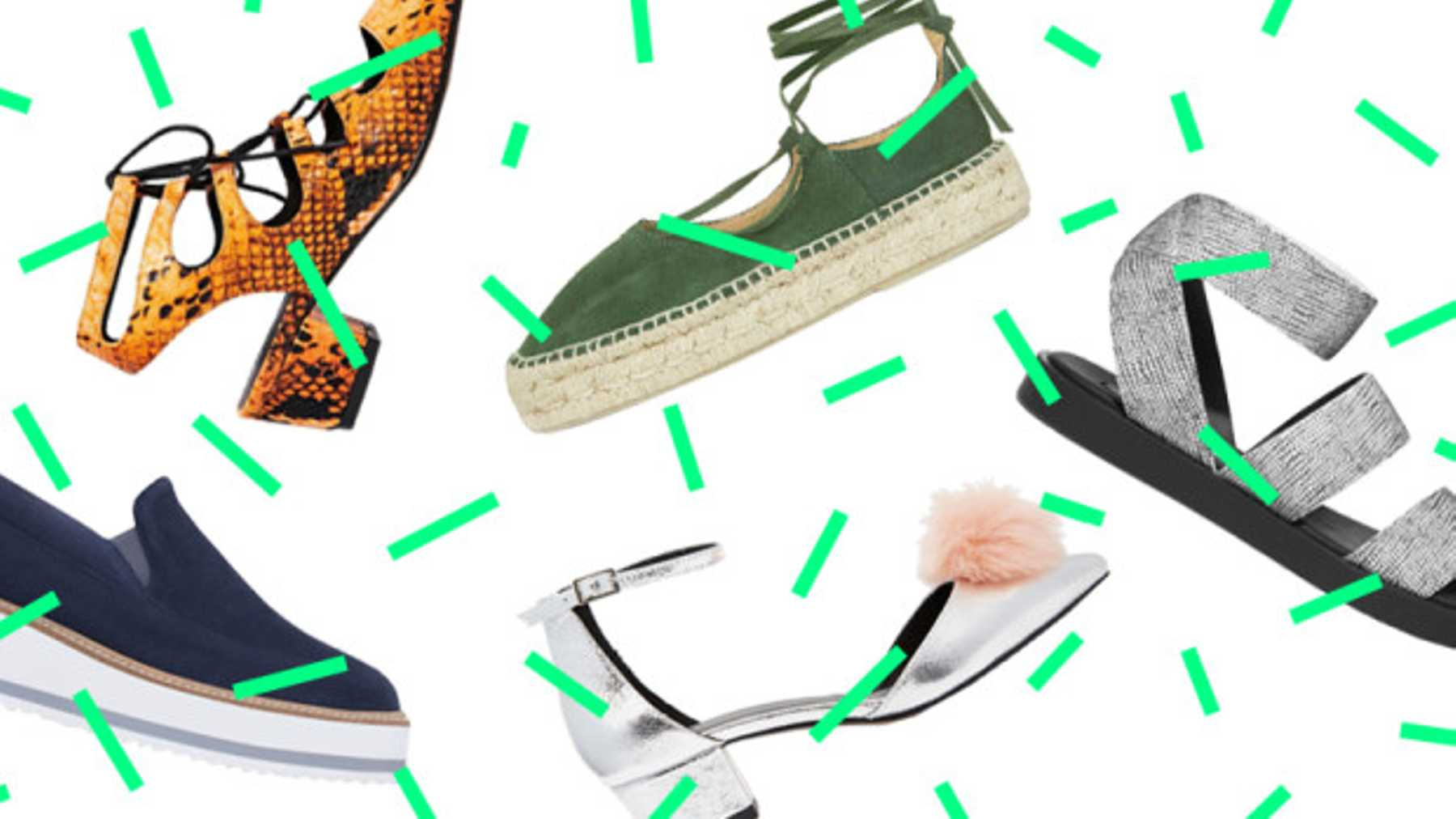 13 Summer Shoes For If You Hate Your Feet Grazia