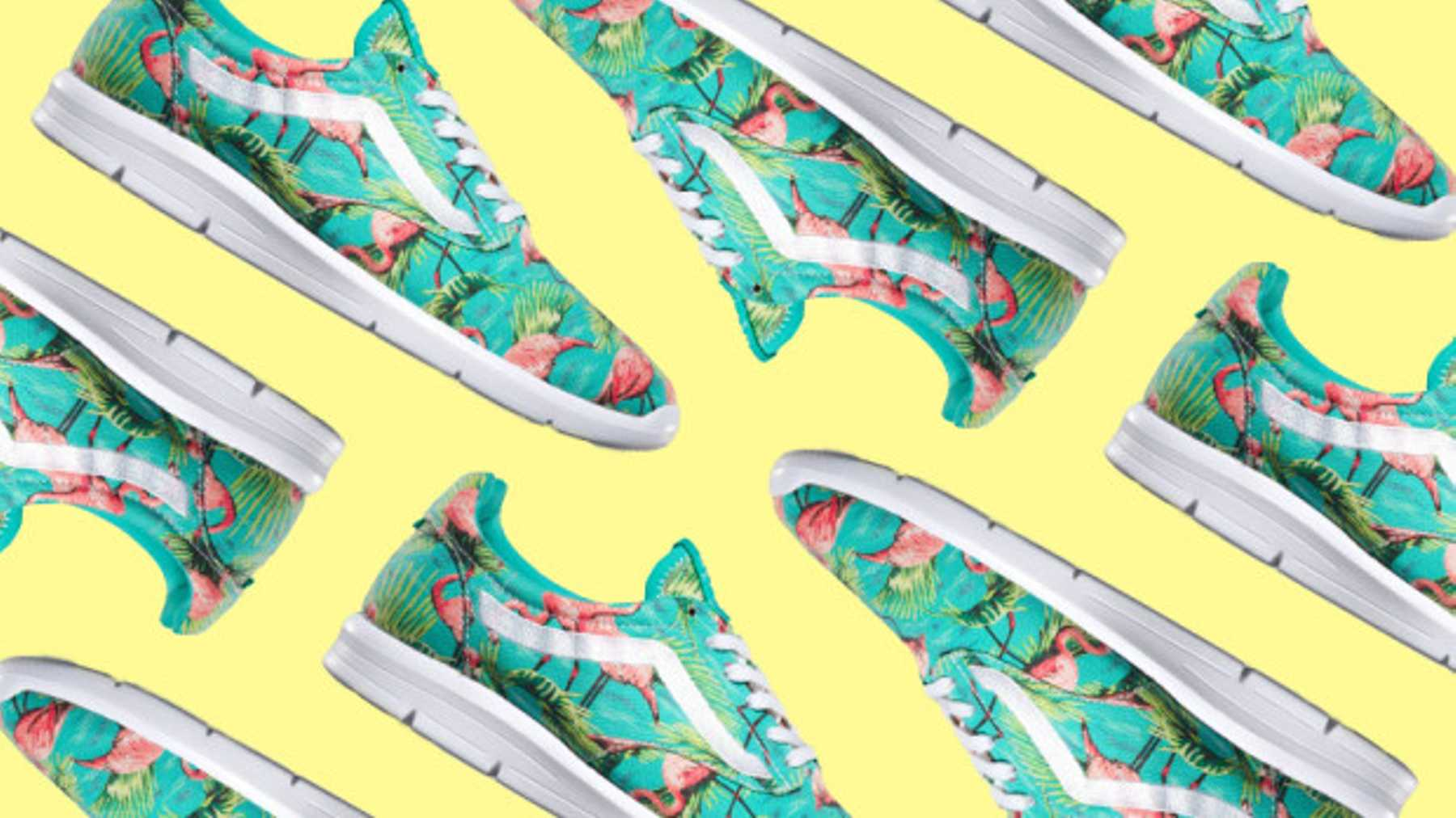 0999075bab These Ace Flamingo Vans Will Stop You Dragging Your Feet This Morning