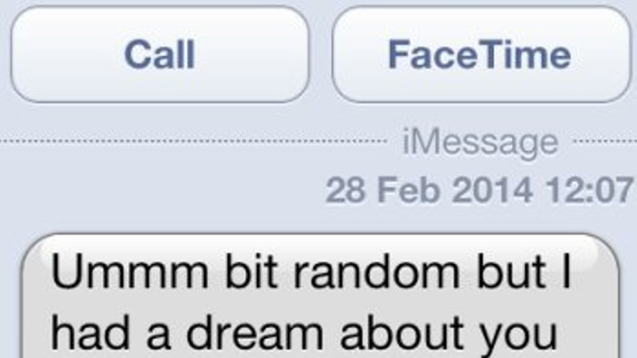 The Nine Texts You'll Get From Your Ex | Grazia