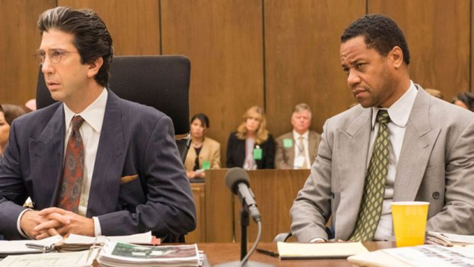 Oj simpson trial cast