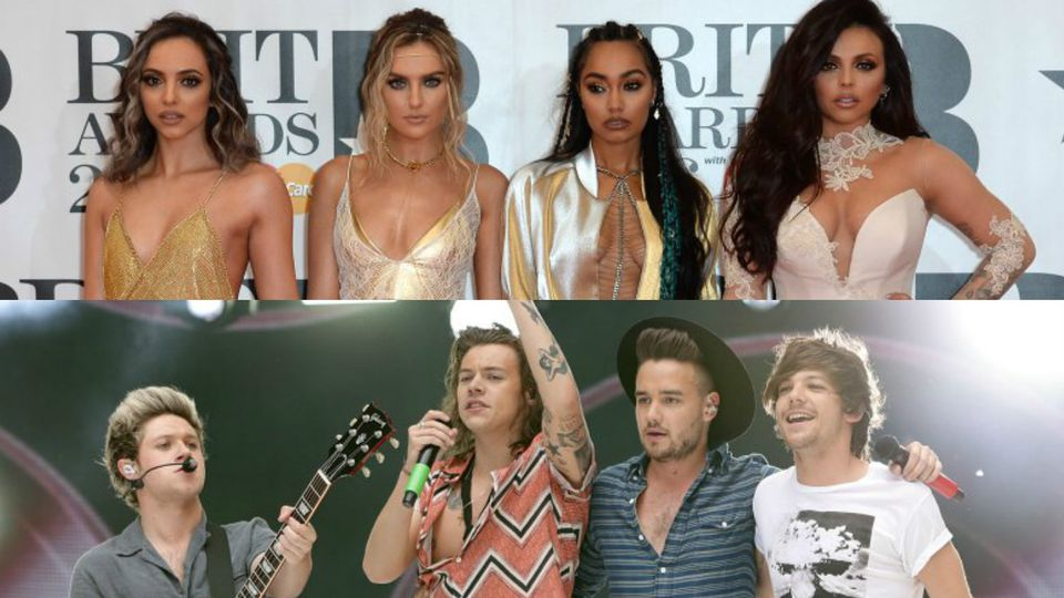 Little Mix Vs One Direction in numbers | Music Events - KISS