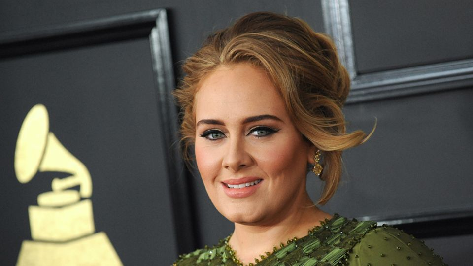 Neighbours cast get very excited as Adele takes time out to visit