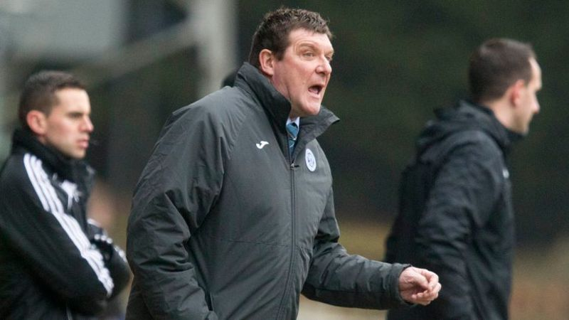 Tommy Wright bemoans penalty decision as St Johnstone draw with Aberdeen