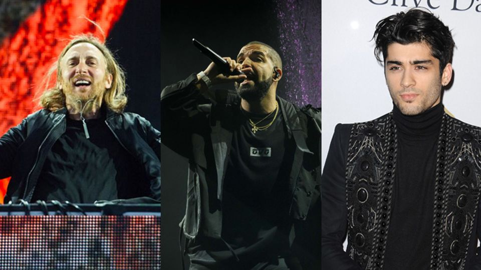 Brand new music this week from David Guetta, Drake, Calvin Harris
