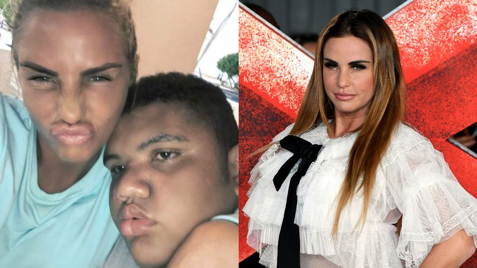 32dab08c3708 Katie Price launches online anti-bullying petition after shocking abuse  towards Harvey