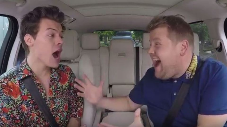Watch Harry Styles And James Corden Act Out Iconic Movies In