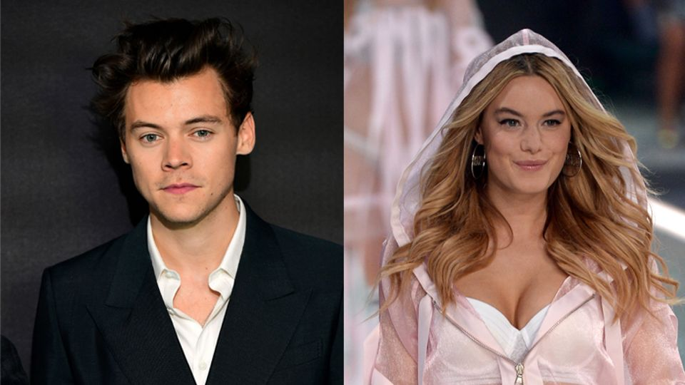 c75e910f101 Harry Styles is dating Victoria s Secret model Camille Rowe ...