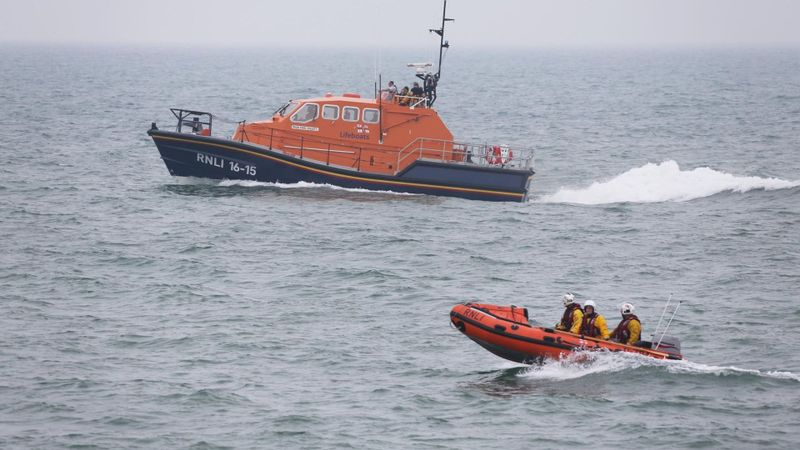 Woman rescued from sea off coast of Dumfries and Galloway