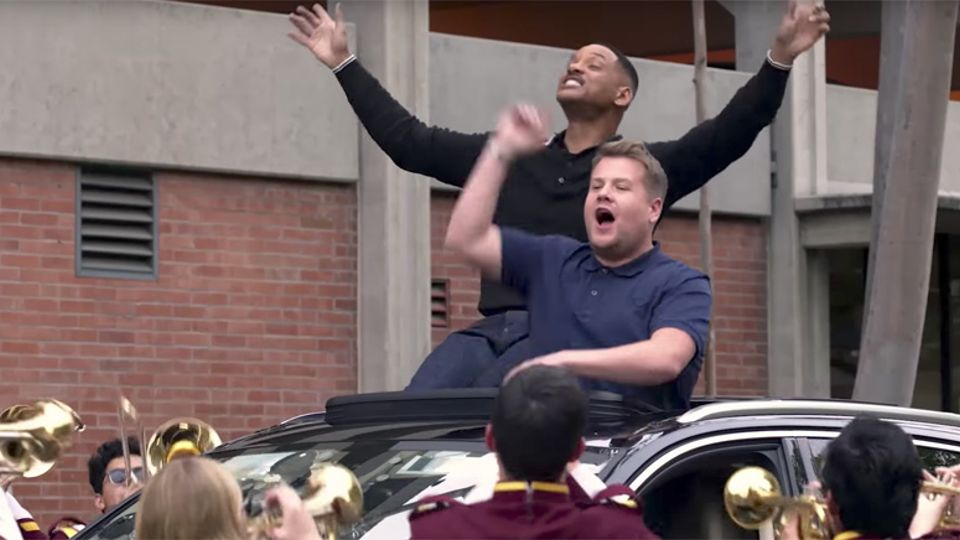 Watch Will Smith Joins James Corden For An Epic Carpool Karaoke