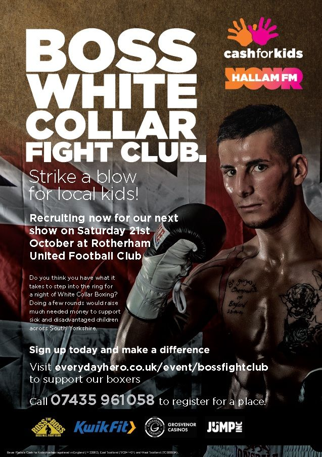 Fight Night Approaches For White Collar Heroes Charity