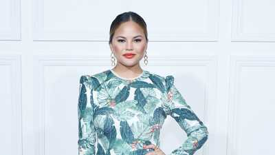 Chrissy Teigen's Avocado Swimsuit Is Everything