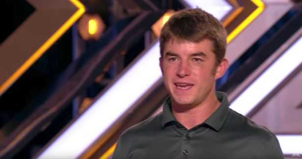 The X Factor's Anthony Russell returns after drug scandal