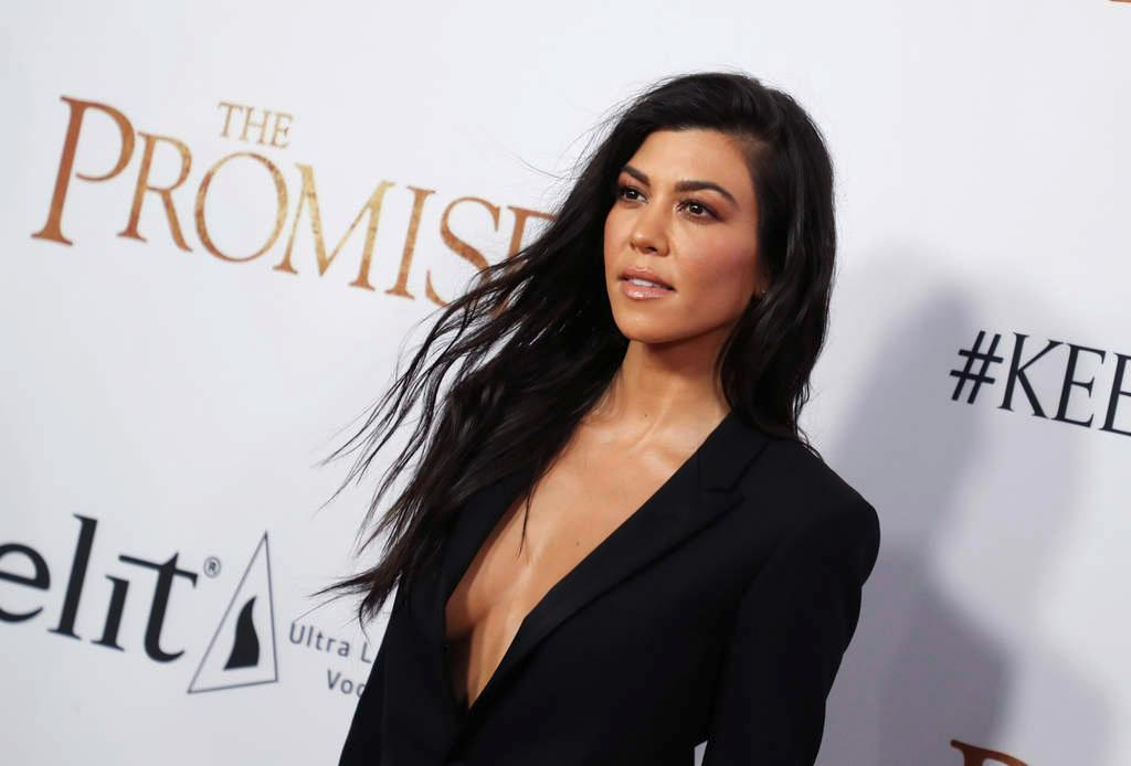 Kourtney Kardashian Jokes That She's Pregnant Again