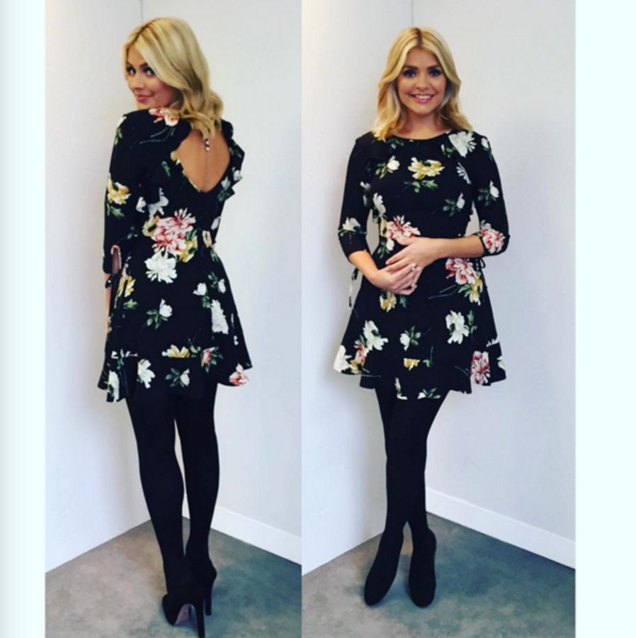 c3e46973e3e32 Where to get Holly Willoughby's stunning Dancing On Ice dresses ...