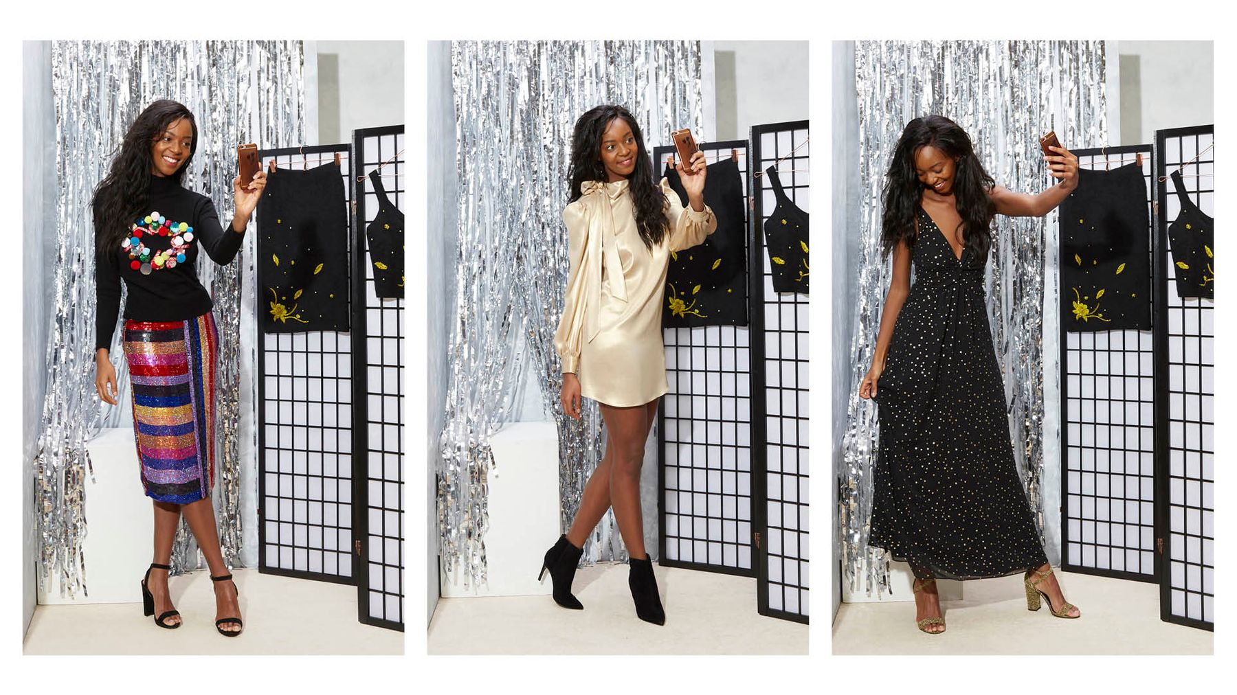 Christmas Party Outfits.We Try On The Best Christmas Party Outfits Topshop Has To
