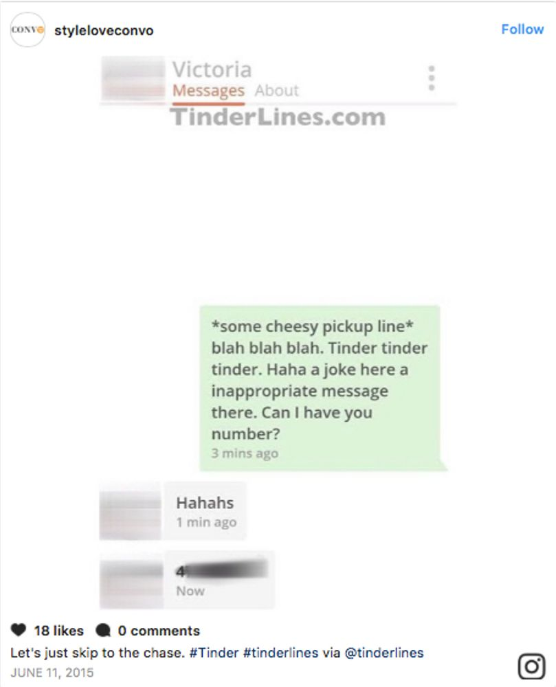 The Best Opening Lines We've Spotted On Tinder | Grazia
