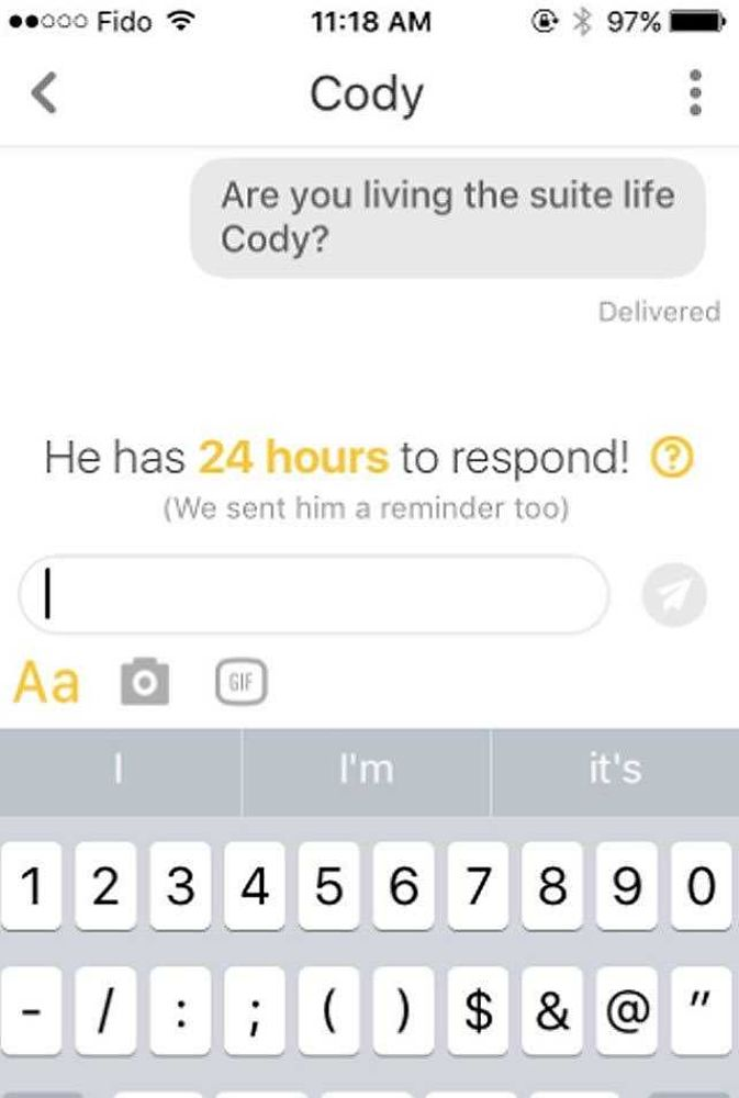 17 Bumble Opening Lines To Help You Get Your Flirt On | Grazia