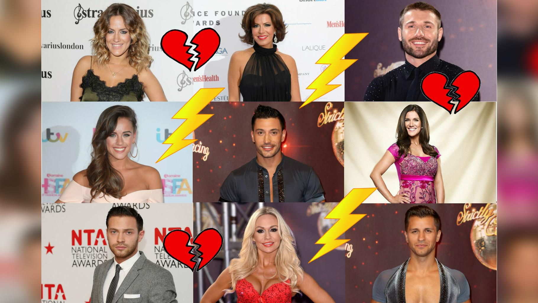 Strictly stars dating