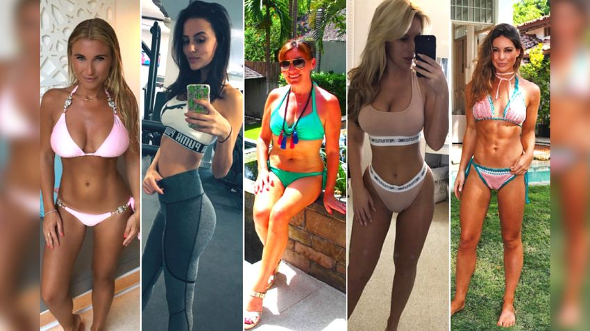 Need Some Gymspiration Here Are 15 Female Celebrities Who Will Inspire You To Hit The Gym Closer These women absolutely crushed the fitness game in 2017. here are 15 female celebrities who will