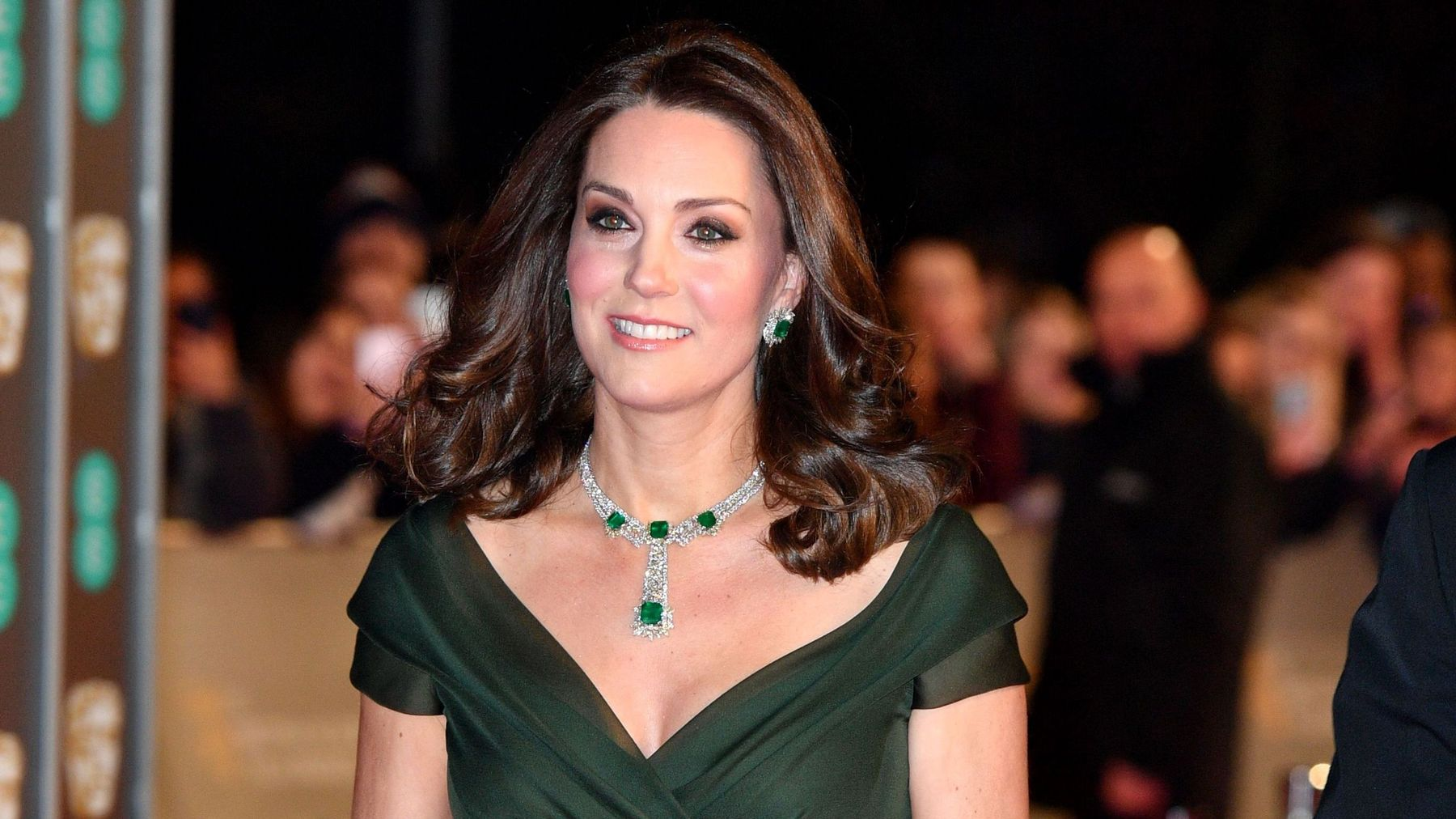 781a9609fb280 Why Kate Middleton Didn't Wear Black To The BAFTAs | Grazia