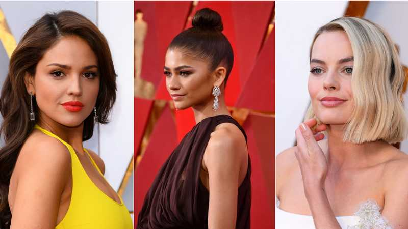 Oscars 2018: Red carpet hair inspiration - heat