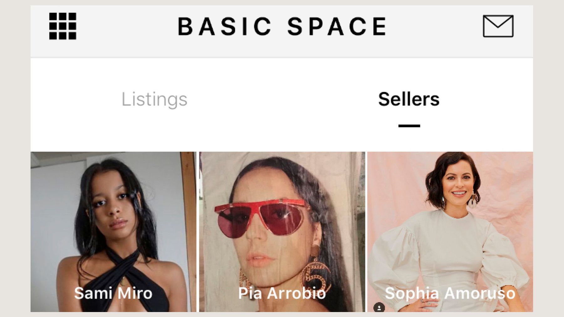 0a6670fa481 Basic Space founder and CEO Jesse Lee talks us through the app where you  can shop pieces previously owned by Sami Miro, Sophia Amoruso and Emily  Oberg…