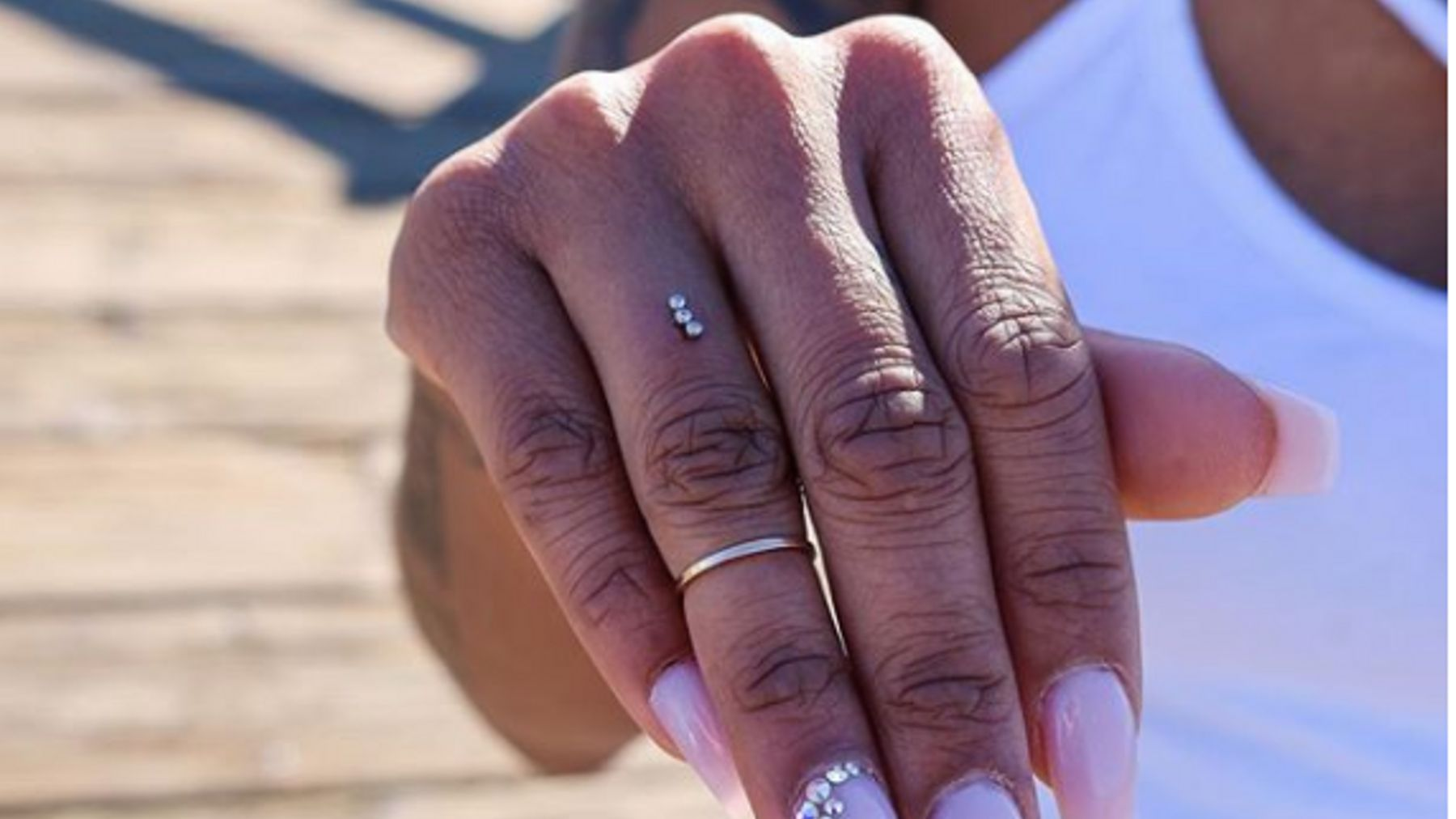 Piercing Your Ring Finger Is The Latest Engagement Trend