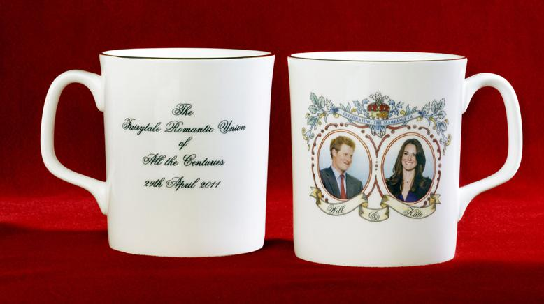 Mistaken Prince Ed On Wedding Plate Sheeran For Harry Commemorative 3Lq54ARj