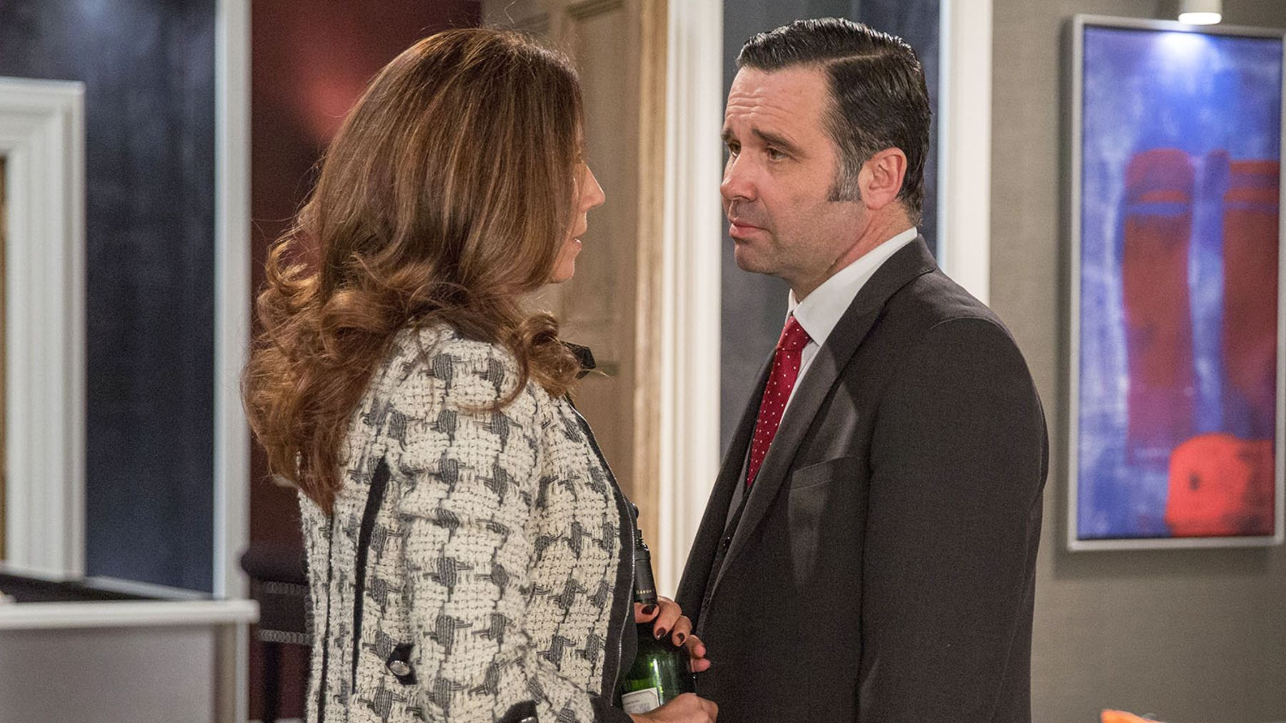 Emmerdale spoilers: Megan and Graham feel the heat    | Closer