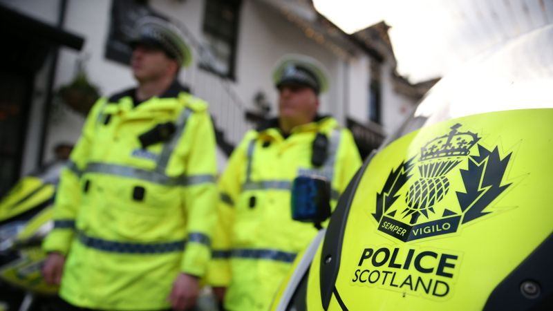 Police Scotland send officers to London to help with protests