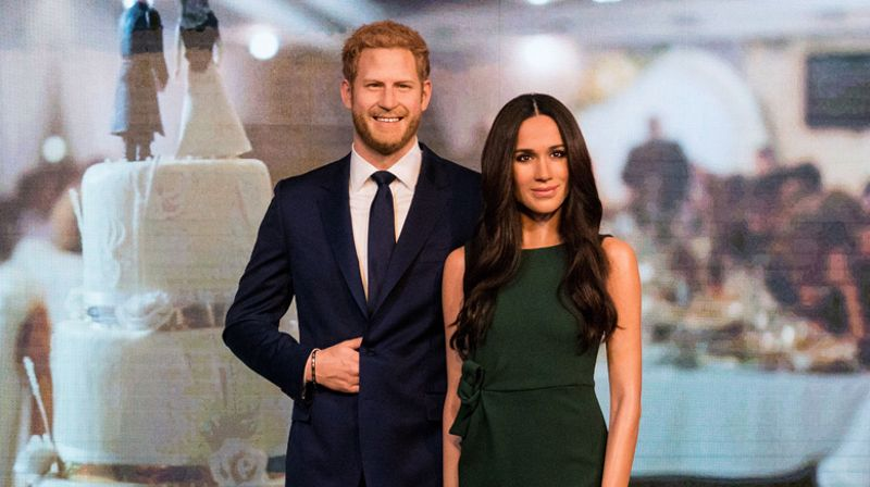 Meghan Markle's waxwork has been unveiled ahead of the Royal
