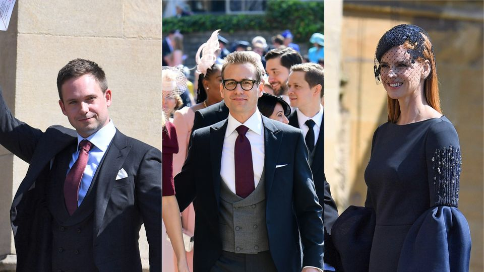 15++ Meghan Markle Wedding Guests Suits