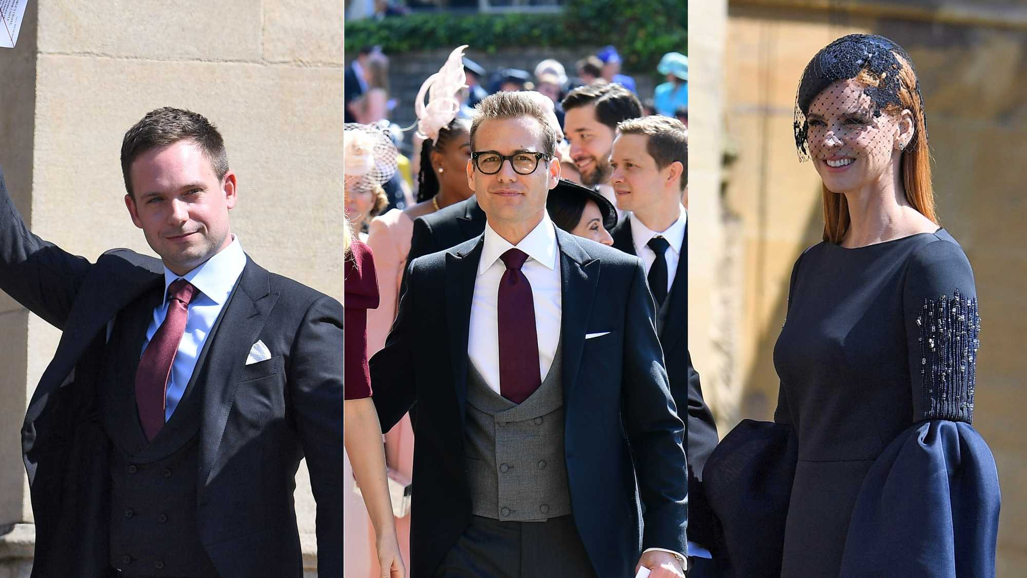Meghan Markle S Suits Co Stars Have Arrived At The Royal Wedding