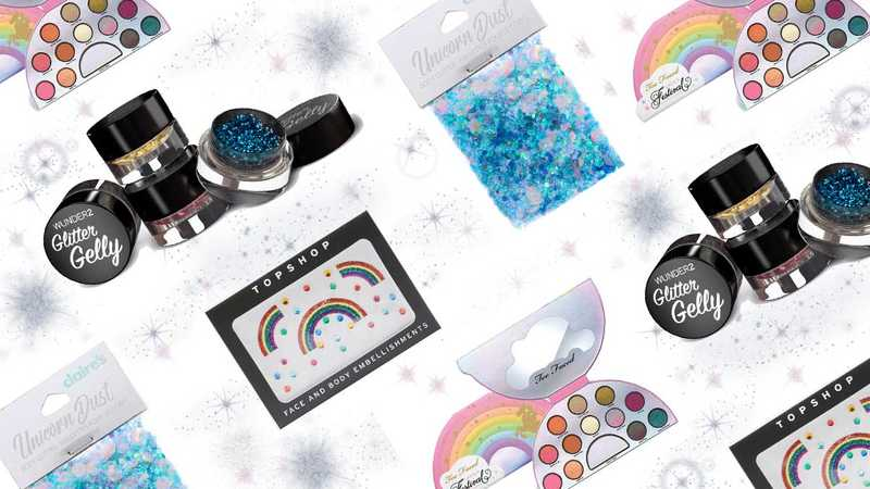 Festival glitter makeup: Everything you need to create the ultimate festival look - heatworld