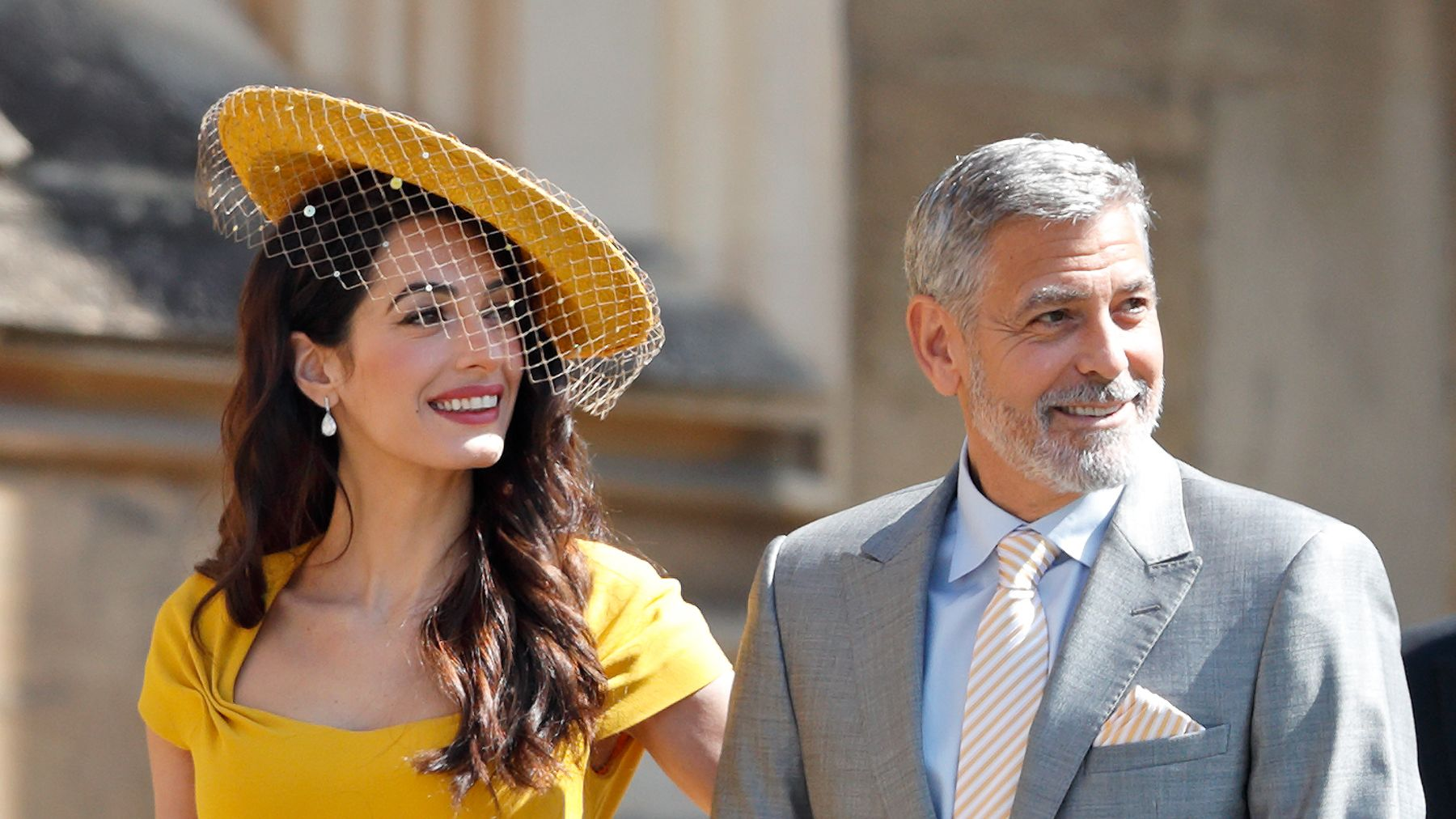 Amal Clooney Royal Wedding.George And Amal Clooney S Royal Wedding Invite A Tequila Based
