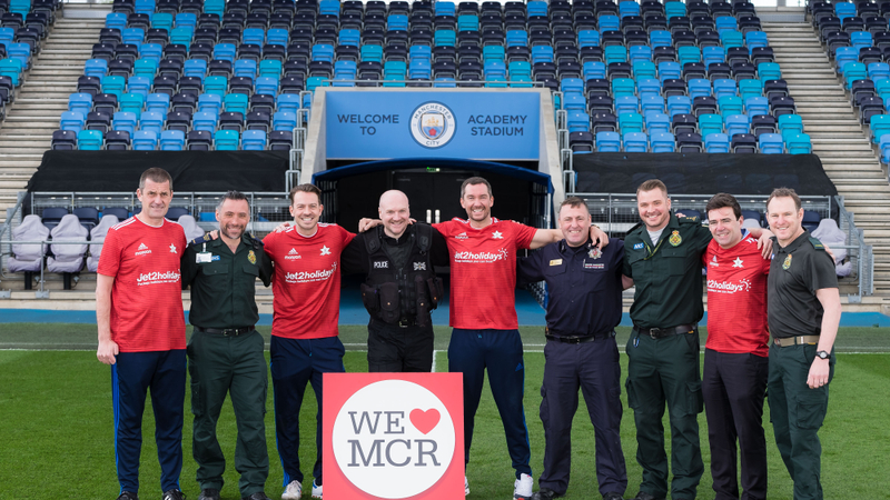 Emergency services set to take on Soap Stars in football match for Arena fund