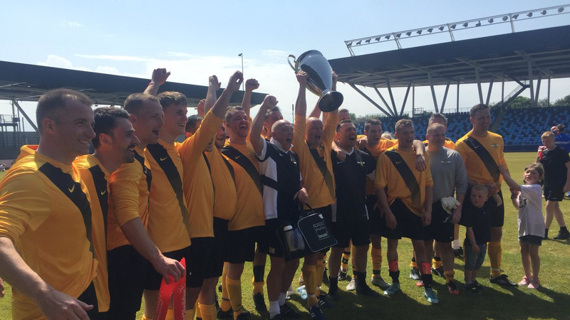 Hundreds attend charity football match raising funds for the Arena attack fund