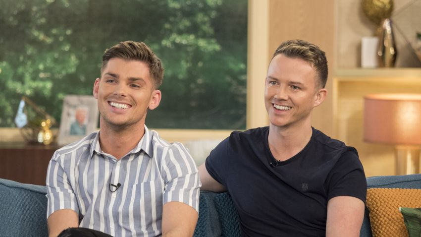 Hollyoaks Kieron Richardson Is Planning Baby Number Three With Husband Carl Hyland Closer