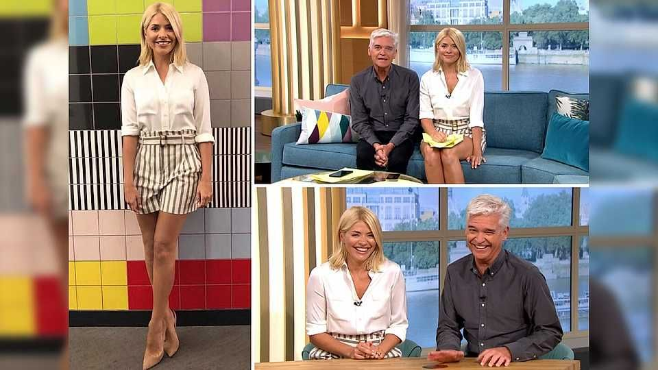 605ff496cdb9 Holly Willoughby's outfits from This Morning and where to get them ...