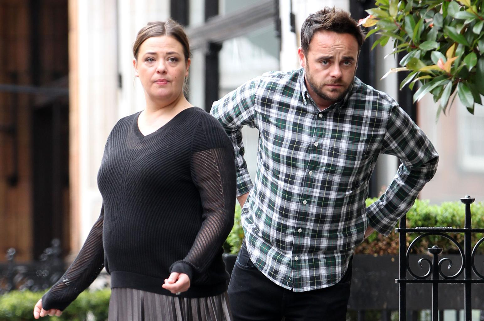 Ant Mcpartlin S Estranged Wife Lisa Hits Back As He Is Seen With New Girlfriend Closer