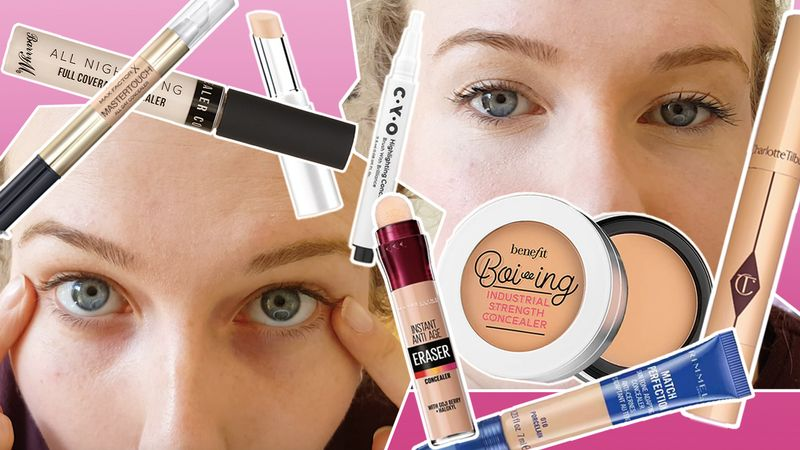Eye concealers: Which are the best high street concealers for under the eyes?