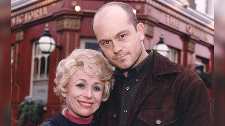 Ross Kemp shares touching photo with Barbara Windsor after