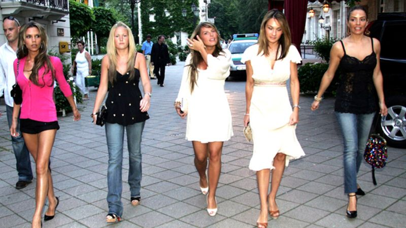 The WAGs from 2006 - where are they now?