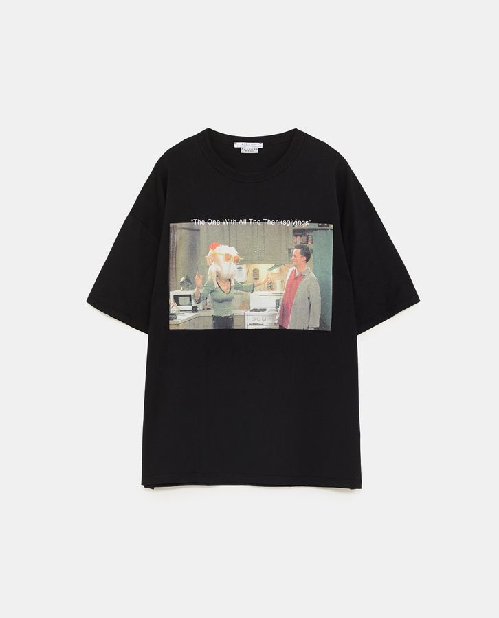 5855fc9f Zara Has A 'Friends' T-Shirt Line That You'll Definitely Want To Buy ...
